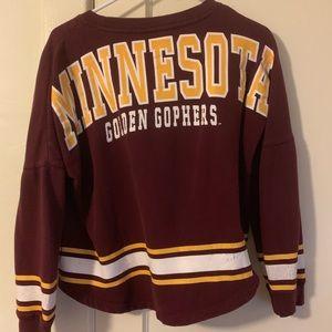 Minnesota Gophers crop sweater